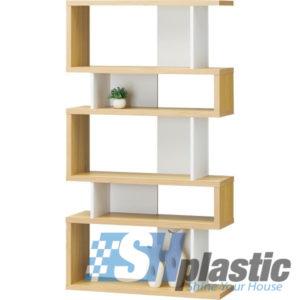 Kệ trang trí nhựa 5 tầng cao cấp SHPlastic KTT08