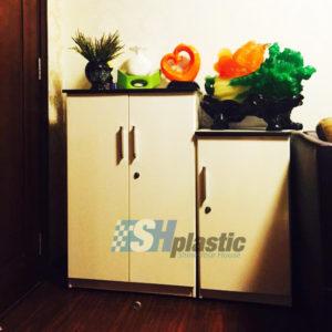 Mẫu tủ giày nhựa cao cấp 1,2 cánh nhỏ gọn / SHplastic TG03